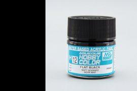 Hobby Color H12 Flat Black