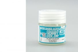 Hobby Color H20 Flat Clear (matt lakk)