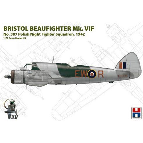 Hobby 2000 Bristol Beaufighter Mk. VIF No. 307 Polish makett