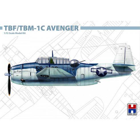 Hobby 2000 Grumman TBF/TBM-1C Avenger  makett