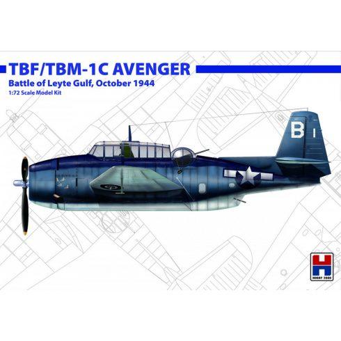 Hobby 2000 Grumman TBF/TBM-1C Avenger Oct. 1944 makett