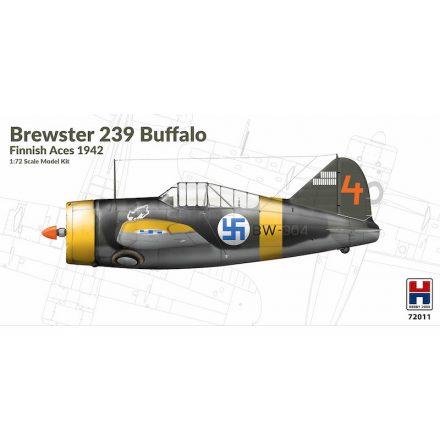 Hobby 2000 Brewster B-239 Buffalo Finnish Aces 1942 makett