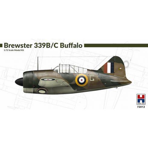 Hobby 2000 Brewster B-239B/C Buffalo makett