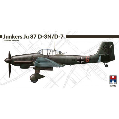Hobby 2000 Junkers Ju-87D-3N/D-7 'Stuka' makett