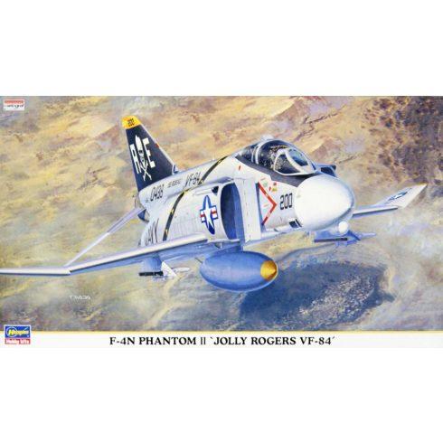 Hasegawa F-4N Phantom II 'JOLLY ROGERS VF-84' makett