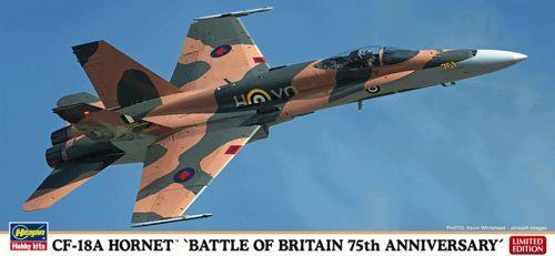 Hasegawa CF-18A Hornet Battle Of Britain 75th Anniversary makett