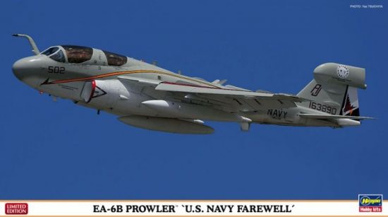 Hasegawa EA-6B Prowler U.S.NAVY Farewell makett