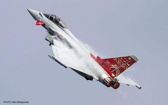 Hasegawa Eurofighter Typhoon Limited Edition makett
