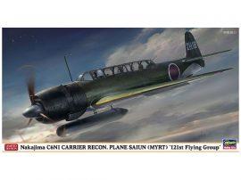"Hasegawa Nakajima C6N1 Carrier Recon Plane Saiun (Myrt) ""121st Flying Group"""
