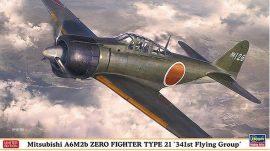 "Hasegawa Mitsubishi A6M2b Zero Fighter Type 21 ""341st FG"""