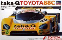 HAsegawa Taka-Q Toyota 88C makett
