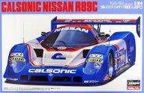Hasegawa Calsonic Nissan R89C makett