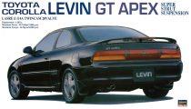 Hasegawa Toyota Corolla Levin GT Apex makett