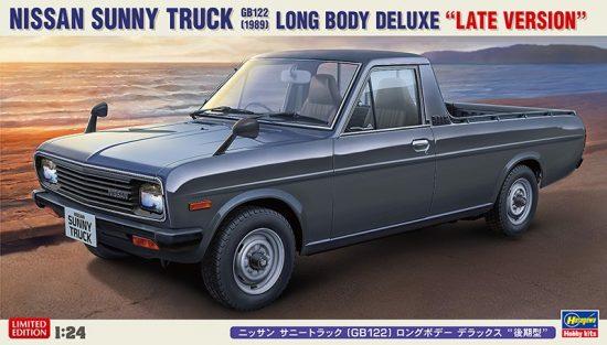 Hasegawa Nissan Sunny Truck (GB122) Long Body Deluxe (Late Version) makett