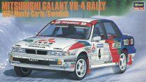 Hasegawa Mitsubishi Galant VR-4 1991 Monte-Carlo/Swedish makett