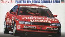 Hasegawa Fujitsu Ten Tom's Corolla AE101 makett