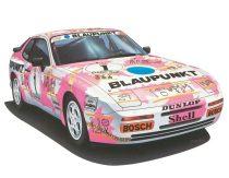 Hasegawa Porsche 944 Turbo Racing makett