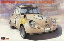 Hasegawa Subaru 360 1964 2nd Japan GP T-I Class Winner makett