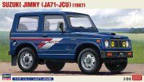 Hasegawa Suzuki Jimny JA71-JCU makett