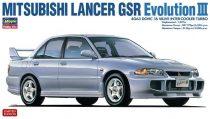 Hasegawa Mitsubishi Lancer GSR Evolution III makett