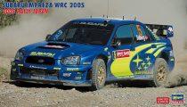 Hasegawa Subaru Impreza WRC 2005 Rally Japan makett