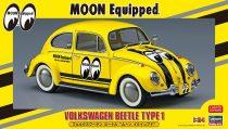 Hasegawa Volkswagen Beetle Type 1 Moon Equip makett