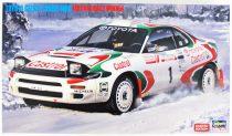 Hasegawa Toyota Celica Turbo 4WD makett