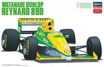 Hasegawa Watanabe Dunlop Reynard 89D makett