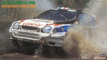 Hasegawa Toyota Corolla WRC Safari Rally '98 makett