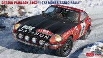 "Hasegawa Datsun Fairlady 240Z ""1972 Rally Montecarlo"" makett"