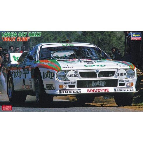 Hasegawa Lancia 037 Rally Jolly Club makett