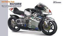 Hasegawa Scot Racing Team RS250W 2009 WGP250 Champion makett
