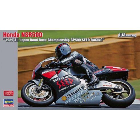 Hasegawa Honda NSR500 1989 All Japan GP500 Seed Racing makett
