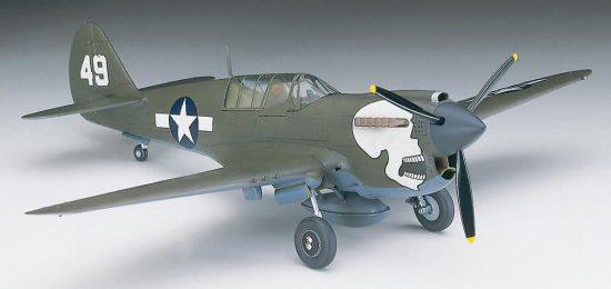 Hasegawa P-40N Warhawk makett