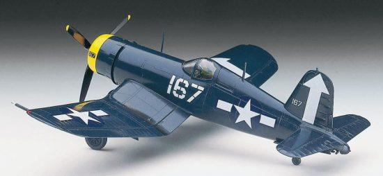 Hasegawa F4U-1D Corsair makett