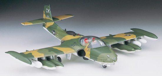 Hasegawa A-37 A/B Dragonfly makett