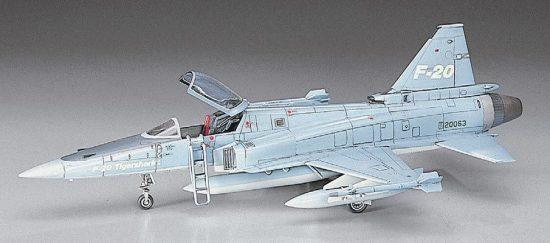 Hasegawa F-20 Tigershark makett