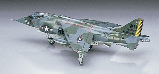 Hasegawa AV-8A Harrier makett