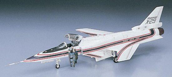 Hasegawa Grumman X-29 makett