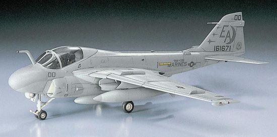 Hasegawa A-6E Intruder makett
