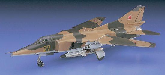 Hasegawa Mig-27 Flogger D makett
