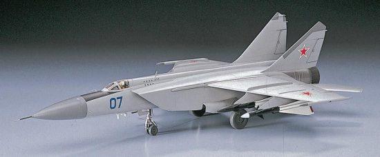 Hasegawa Mig-25 Foxbat makett