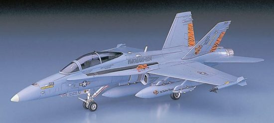 Hasegawa F/A-18D Hornet makett