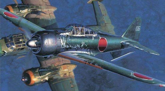 Hasegawa Mitsubishi A6M3 Zero Fighter Type 22/32 makett