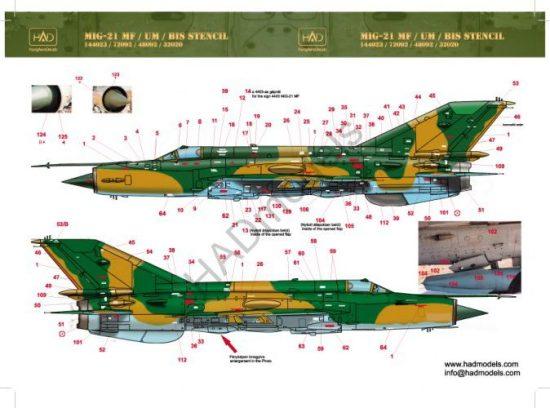 HAD MiG-21 MF Hungarian