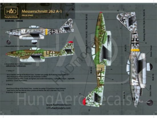 HAD Messerschmitt Me 262 A-1