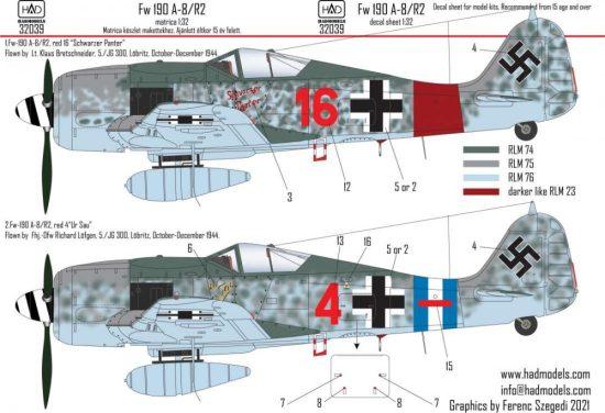 HAD FW 190 A-8 / R2