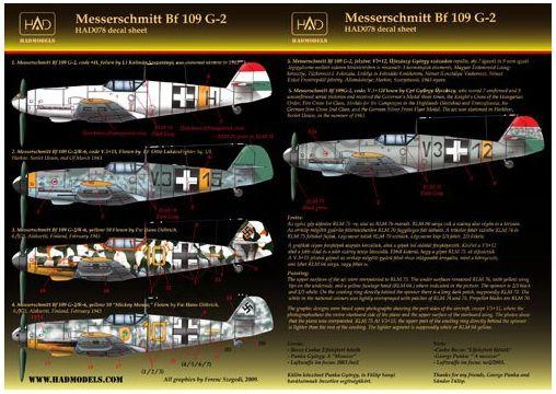 HAD Messerschmitt Bf 109 G-2