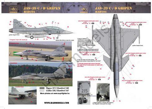 HAD JAS-39 Gripen