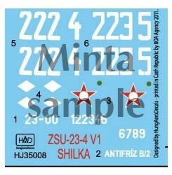 HAD ZSU-23-4 V1 Shilka Hungarian